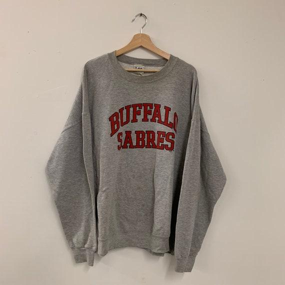 Vintage 90s Buffalo Sabres NHL crewneck sweater