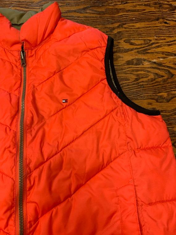 Vintage 90s Tommy Hilfiger Reversible Zip Up Vest - image 3