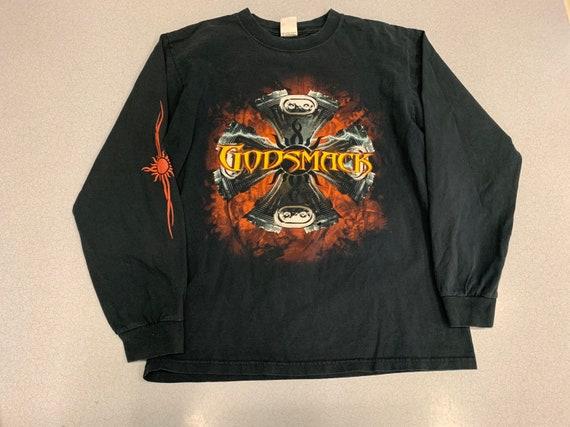Vintage 90s GodSmack Longsleeve Band T Shirt