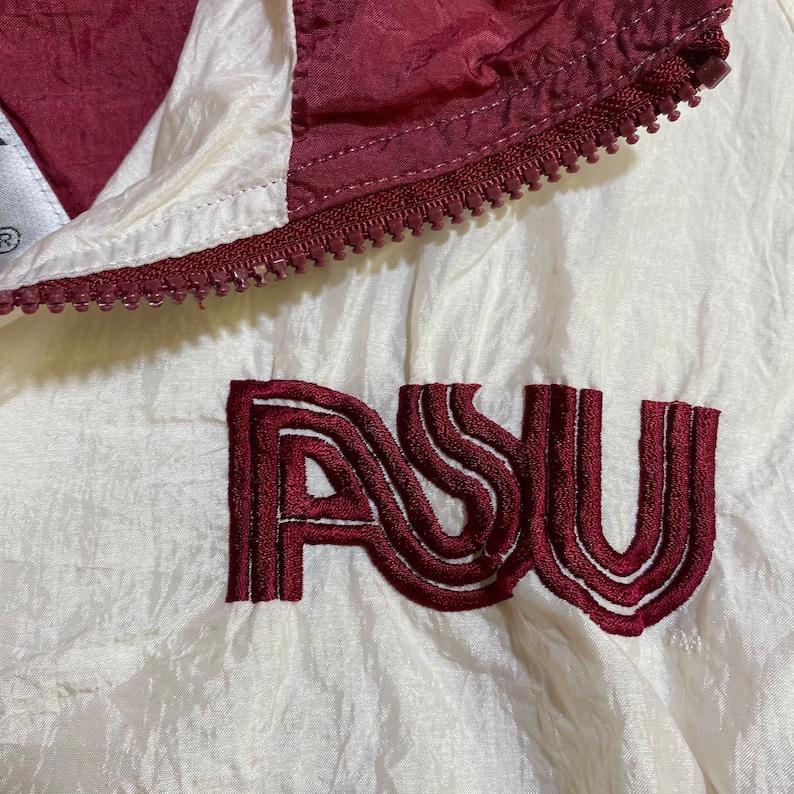 Vintage NCAA ASU Sun Devils Full Zip Windbreaker Jacket