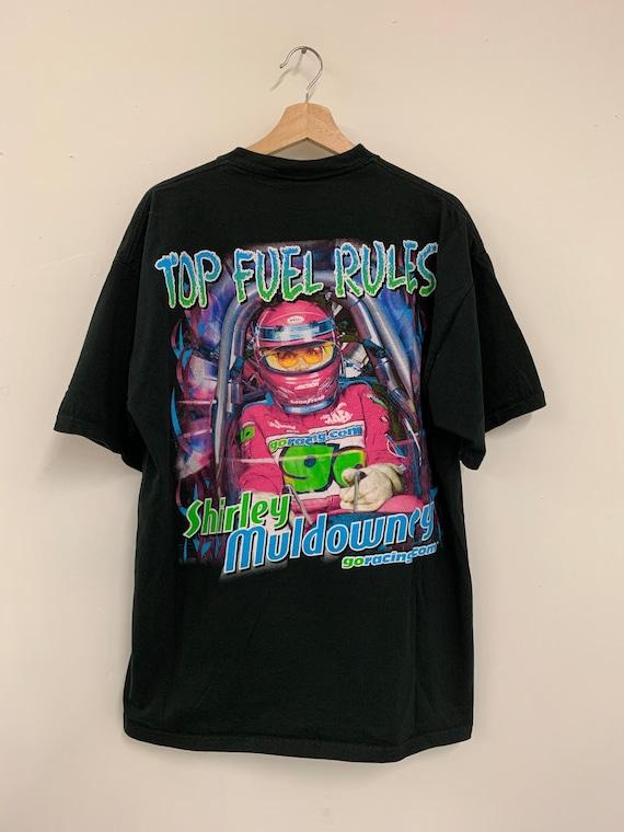 Shirley Muldowney signed racing t-shirt - image 3