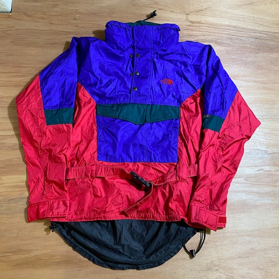 Vintage 90s The North Face Skiing Windbreaker coat