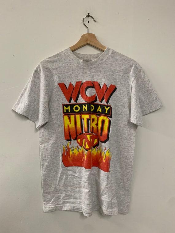 Vintage 90s WCW Monday Nitro TNT Wrestling T-Shirt