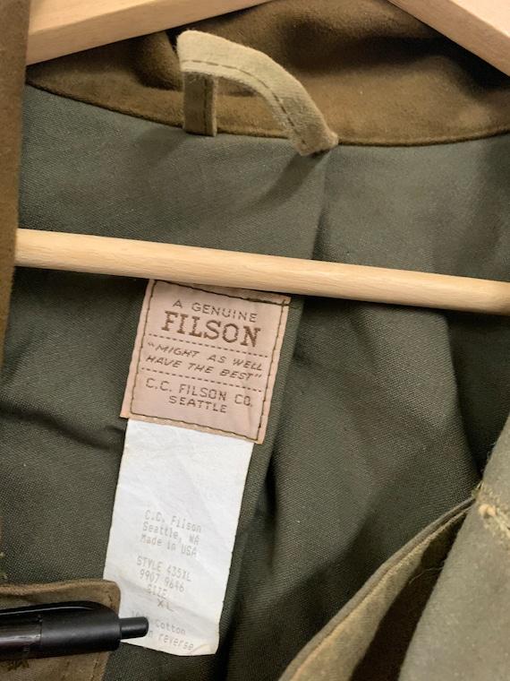 Filson Vintage 70s Workwear heavy cotton jacket - image 7