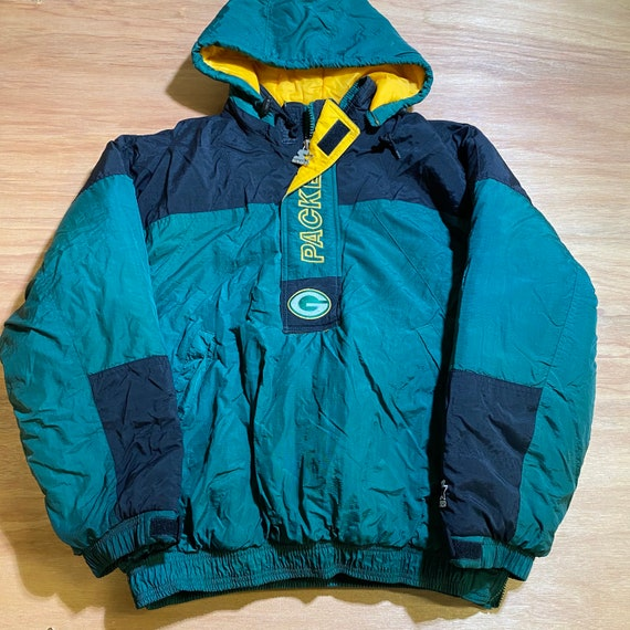 Vintage 90s Green Bay Packers NFL Starter Youth Pu