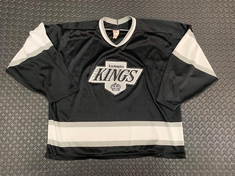 Vintage 90s L.A Kings CCM hockey jersey