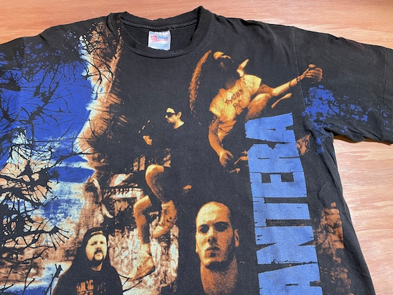 1993 Pantera All Over Print Vintage Graphic Shirt