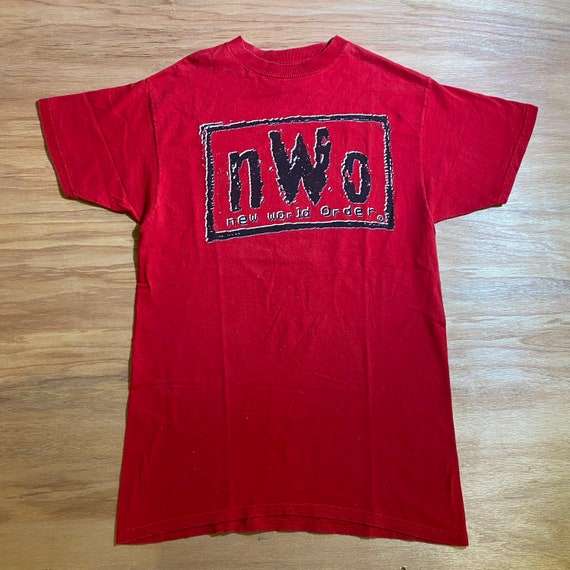 N.W.O New World Order Vintage 90s Graphic shirt Wr
