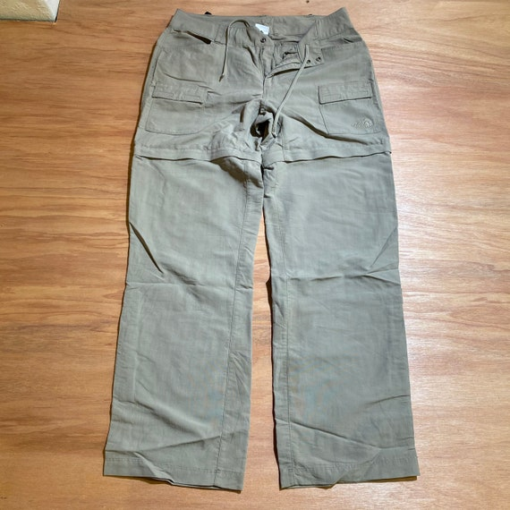 Vintage Y2K The north face TNF zip off short/pants