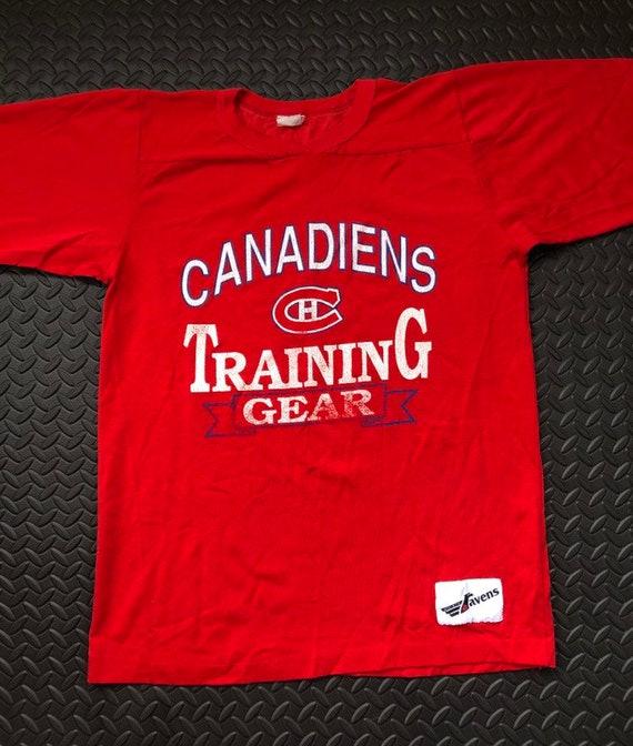 Vintage 90s Montreal Canadians Training Gear Hocke
