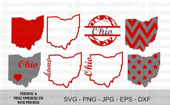 Ohio State Svg Bundle Etsy