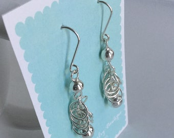 Margo Earrings handmade sterling silver