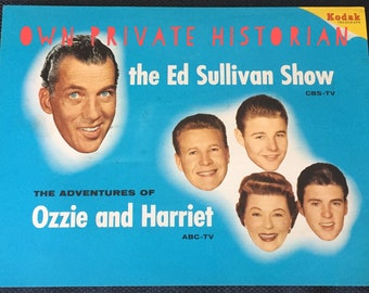 Items similar to 1961 Ozzie, Harriet, David and Ricky (Rick) Nelson