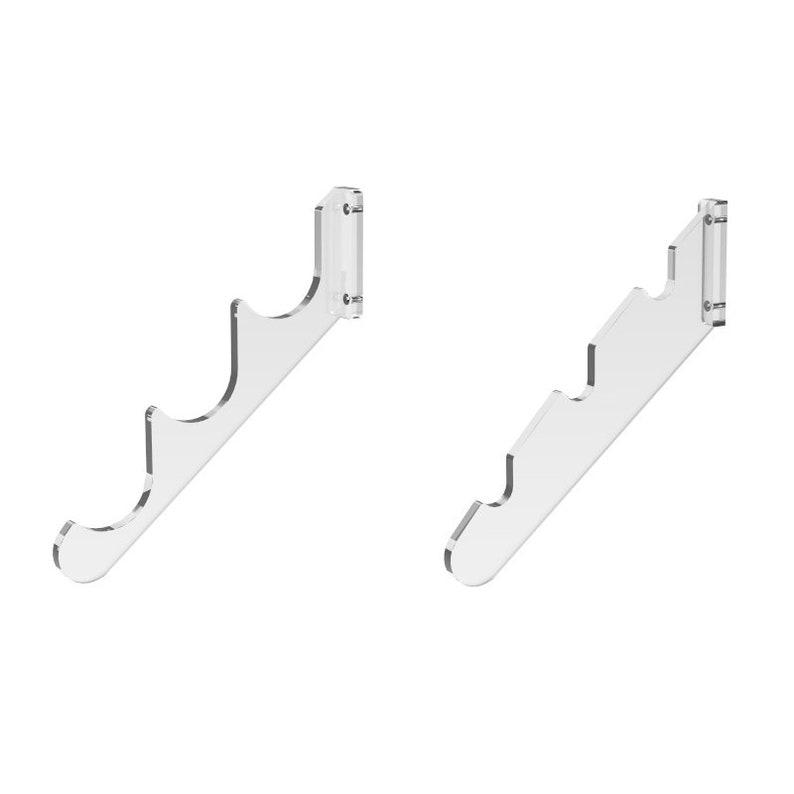 FixtureDisplays Set of 5 2-PEG Lead Apron Wall-Mount Hook Hanger 15685