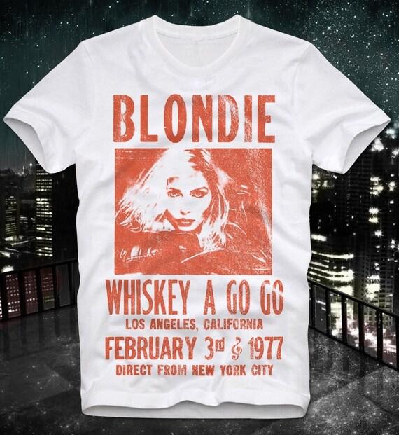 Blobdie Whiskey A Go Go Tour 1977 T-shirt
