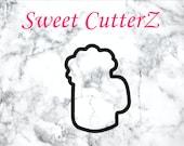 Beer Mug Cookie Cutter, Custom Cookie Cutter