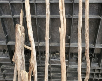 Driftwood Pole 2,3,4,5 or 6 feet long - Rod Hanging Weaving Macrame DIY Closet Nursery Shower Craft