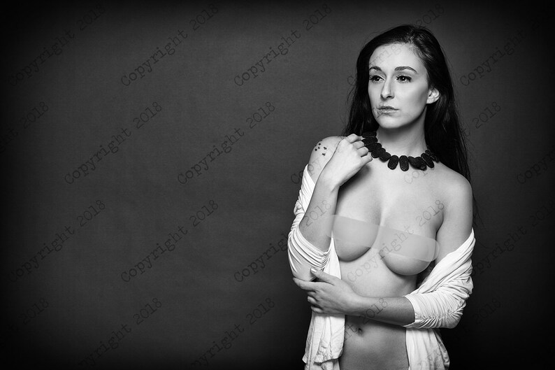 Color female nude photography