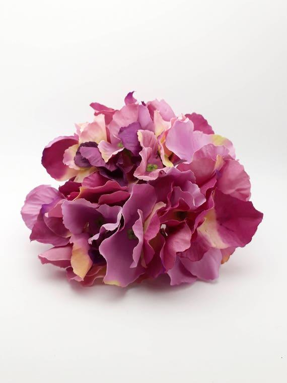Large hydrangea blossom artificial light purple hydrangea etsy image 0 mightylinksfo