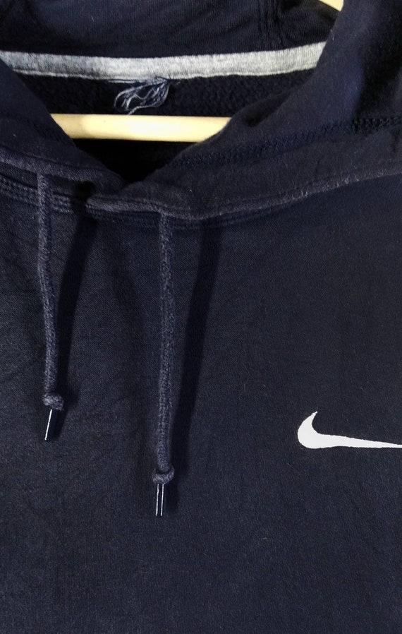 Nice Nike Swoosh Embroidery Logo Hoodie Sweatshirt - image 2