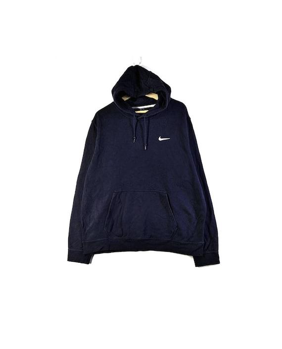 Nice Nike Swoosh Embroidery Logo Hoodie Sweatshirt - image 1