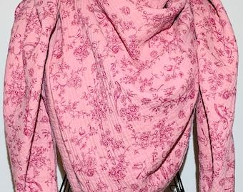 Muslincloth Women's XXL, ROMANTIK, pink - purple