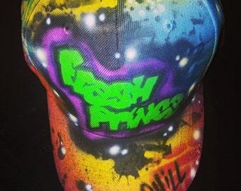 Fresh Prince Custom Airbrushed Hat 10f0229ac2