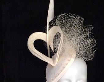 Bridal Headpiece, fascinator, hat, tocado