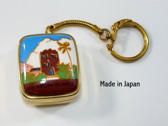 Sankyo Music Box Vintage Key Chain Made In Japan U S Virgin Etsy