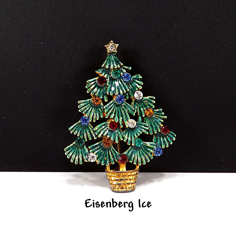 Weihnachts Ohrstecker Weihnachtsbaum Strasssteinchen Weihnachtsgeschenk Neu