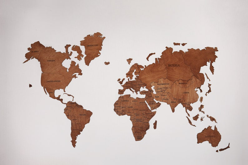 Amazing New Deals on Wood Wall Map Wooden World Map Large Push Pin ...