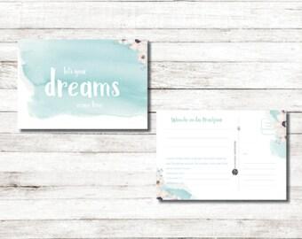 25 Ballonkarten - Let your dreams come true
