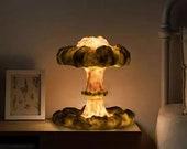 3D Mushroom Cloud Explosion Lamp Creative NightLight LED Table Lamp Simulation Nuclear Explosion USB Light Party Home Decoration
