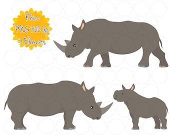 image about Rhino Printable identified as Rhino printable Etsy