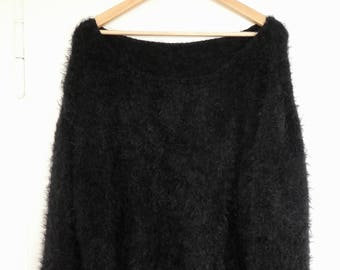 Oversize sweater with cuddle factor