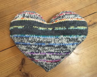 Wool Heart Pillow