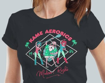 Kame Aerobics / Master Roshi Tee / Sennin House 80s Retro Gym / Women's Fit T Shirt