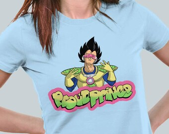 Proud Prince / Rap Vegeta / Fresh Prince Saiyan Tee / Women's Fit T Shirt