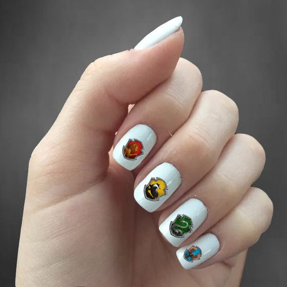 Harry Potter Nail Decals Harry Potter Nail Art Harry Etsy