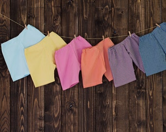 shorts or pants, Child shorts, boy or girl, many colours,