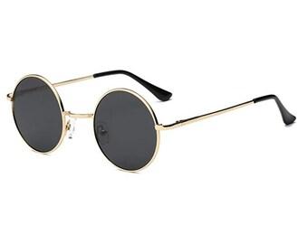 7e40c29216c1 Mens CLASSIC RETRO HIP HOP RAPPER Style SUN GLASSES Large Thick Black Gold  Frame Clothing