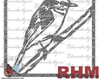 Eastern Yellow Robin Bird SVG File Vector For Plasma Laser And Cricut Digital Download AI DXF Pdf Plt Svg Cnc Cut Ready