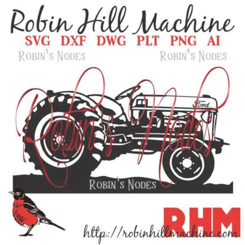 Ford 8N Tractor SVG file ~ detailed vector for laser and Cricut ~ Digital  Download ~ AI DXF eps pdf plt png ~ Farm Tractor cut file
