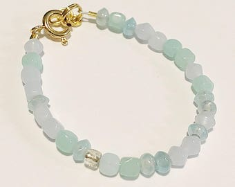 Mixed Blue Baby Bracelet/Accessory