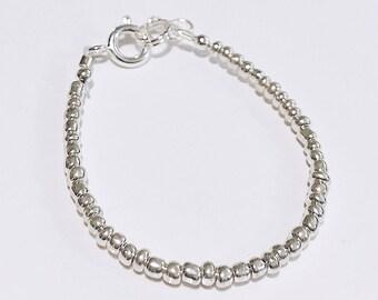 Mini Silver Baby Bracelet/Accesory