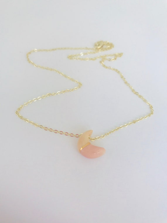 Golden Luna Horizon Diffuser Necklace
