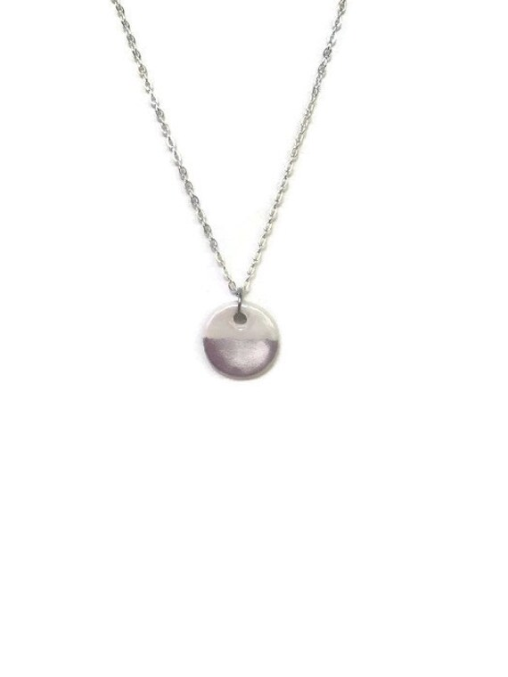 Silver Dipped, Essential Oil Diffuser Necklace, Essential Oil Included, Minimalist, Boho, Simple, Chic, Elegant