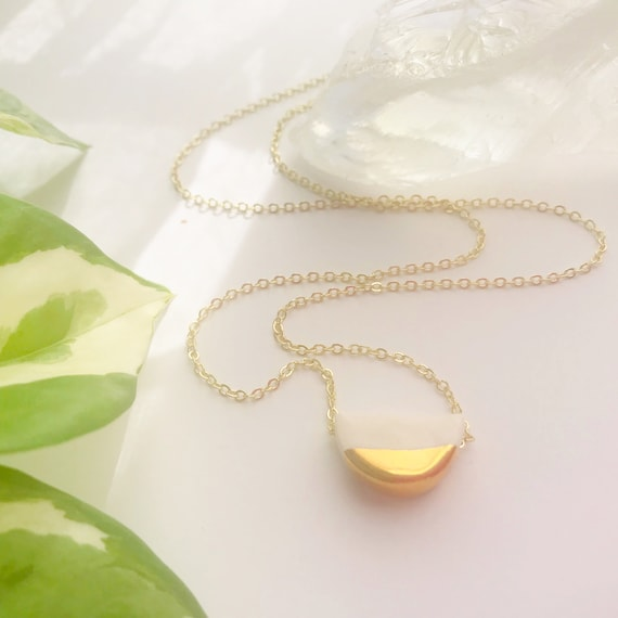 Gold Dipped Half Moon Diffuser
