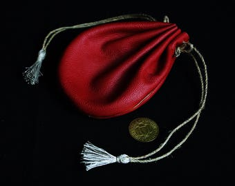 LARP cosplay red pouch / pourse