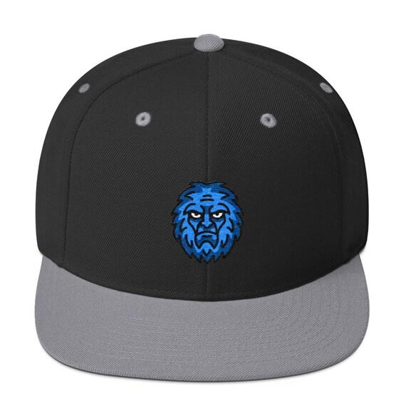 f9e427d1199 Yeti Hat Bigfoot Sasquatch Wool Embroidered Snapback Hat